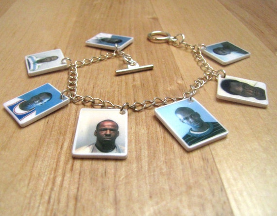 It's My Prerogative - Celebrity Mug Shots Charm Bracelet