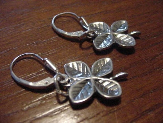 Four Leaf Clover in Sterling Silver
