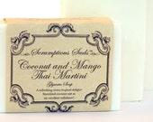 Coconut and Mango Thai Martini Glycerin Soap