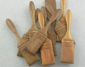 Nifty Brass Paintbrush Findings