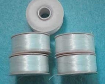 Nymo Thread Size F 5 Bobbins Sewing Beading Quilting Textiles