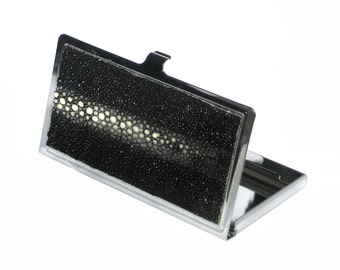 Black Stingray Multiple Spine Card Case - by UNEARTHED