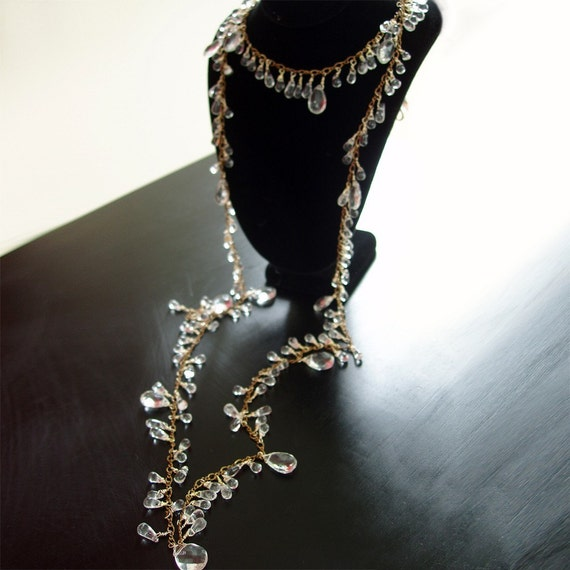 Roaring Twenties Flapper Necklace - Custom Made to Order