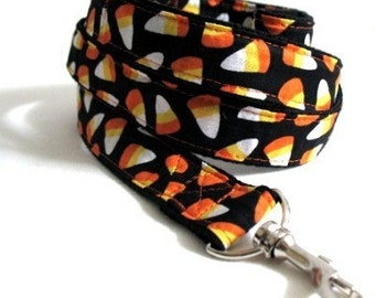 Eco Dog Leash - Orange Candy Corn