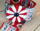 Half Price Sale Republican Flower Power Belt