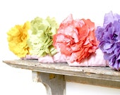 Yellow, green, coral and lavender silk personalized gifts for your bridesmaids