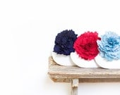 ivory silk clutches, red and blue personalized bags for your wedding