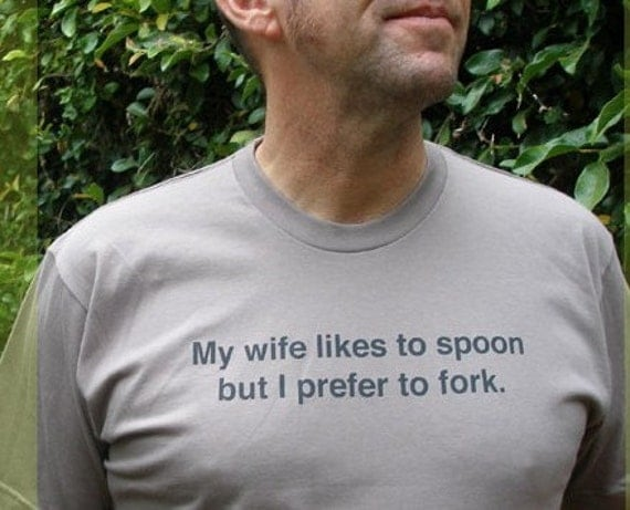Spoon and Fork Organic T-shirt