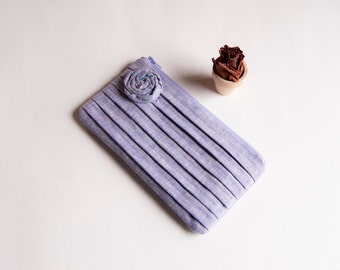 Wedding Bridal Clutch Purse, Bridesmaid Gift Idea Clutch Purse Bag, Lilac Violet Purple Rose, Mothers day, Gift for her