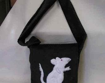 Brown Corduroy Lovable Rattie Bag