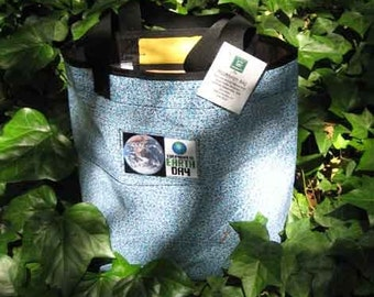 Recycled Billboard Tote Bag