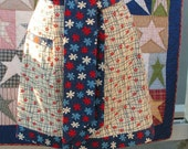 LAST ONE - Apron - Patriotic - Fabric by Moda