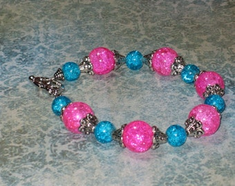 Cotton Candy part 2-  Electric Boogaloo Bracelet