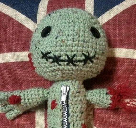 Zombie Sackboy cute ZomBuddie