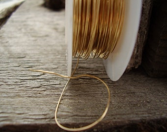 26-gAuGe 14K gOlD fIlleD WiRe-10 ft DS or HH