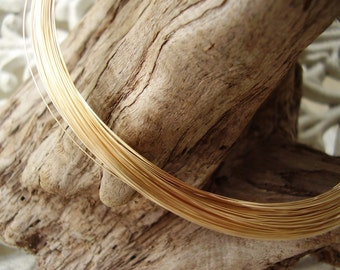 Gold filled square wire 22gauge 3 feet