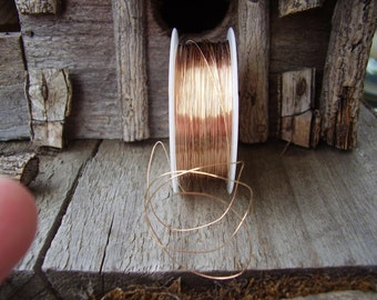 26- GauGe RoSe GolD WiRe-10ft