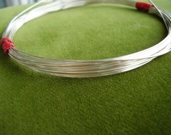 16-gauge fine .999 silver wire - 2 ft