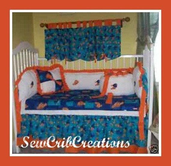 Nemo s reef 4 piece crib bedding set disney baby - Finding Nemo Crib Set Submited Images