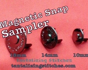 Extra Thin Magnetic Snap Sampler at Tantalizing Stitches