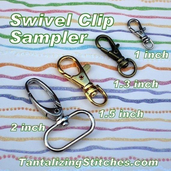 Swivel Clip Sampler at Tantalizing Stitches