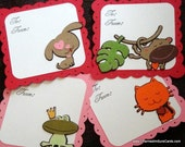 Kids Valentine Trading Cards Set of 20