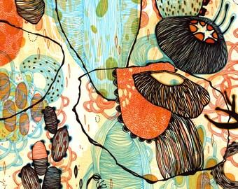 Giclee Fine Art Print - Vessel - 11x11