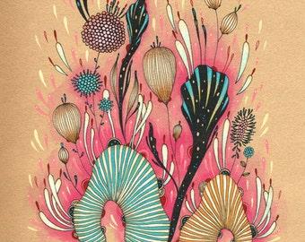 Giclee Fine Art Print - Beacon - 8x10