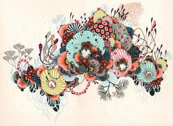 Giclee Fine Art Print - Biome - 11x14 - Print