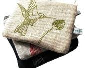 Hummingbird Organic Purse