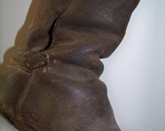 ON SALE Antique Baby Shoe Civil War Era