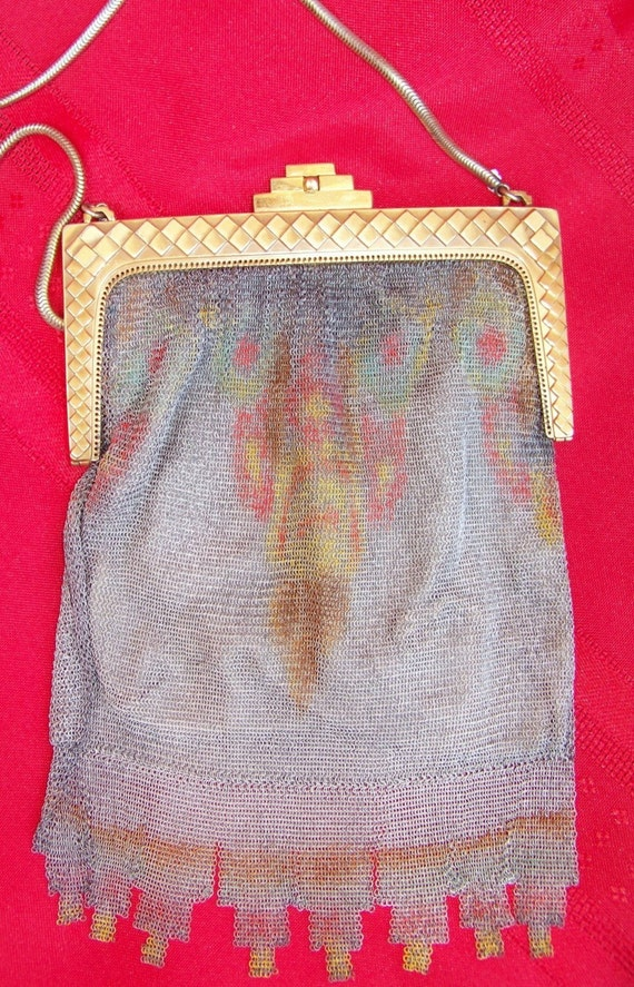 Whiting and Davis Antique Mesh Purse