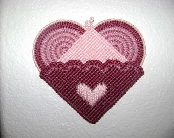 Heart Shaped Memo Holder   (V-120)