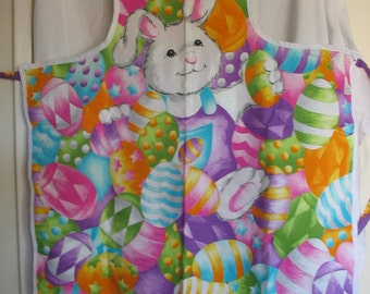 Easter Bunny Apron (E-146)