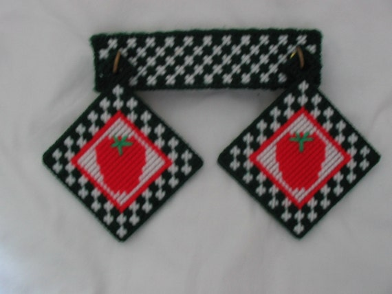 Strawberry Coasters on a Hanger  #824
