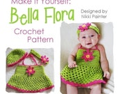 Make It Yourself- Bella Flora - Crochet Pattern