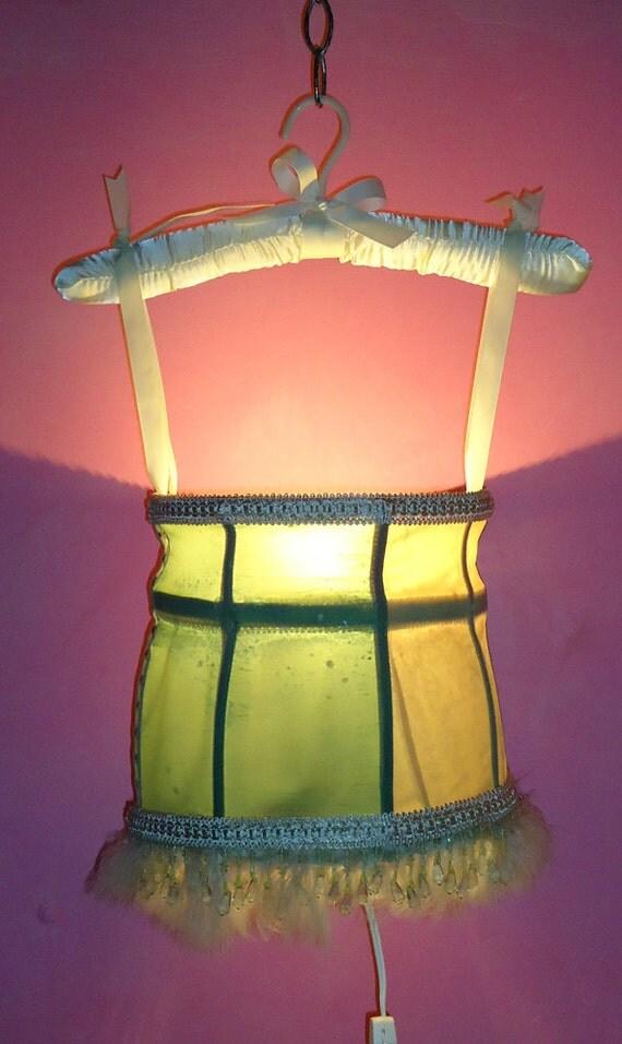 Deena Jeena a hand made Tramp Lamp