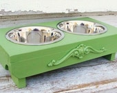 Feeding Stand, Dog Bowls, Cat Bowls, Elevated Feeder, Bowl Holder, Custom