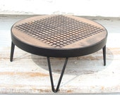 Wood Tray, Round Wood Tray, Wood Serving Tray, Rustic Wood Tray, Rustic Serving tray, Industrial Tray, Coffee Table Tray, Breakfast Tray