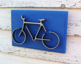Bicycle Wall Art Bike Wall Decor Gift for Cyclist