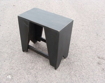 Coffee Table Entryway Bench End Table Wood Bench Painted Furniture Rustic Bench, Modern Bench, Black, Custom