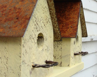 Outdoor Birdhouse, Wooden Birdhouse, Decorative Birdhouse, Functional Birdhouse, Bird Houses