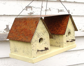 Outdoor Birdhouse, Wooden Birdhouse, Decorative Birdhouse, Functional Birdhouse, Bird Houses