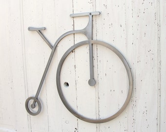 Modern Bike Art Bicycle Wall Decor Bike Wall Decor Metal Wall Decor 23 long x 28 tall