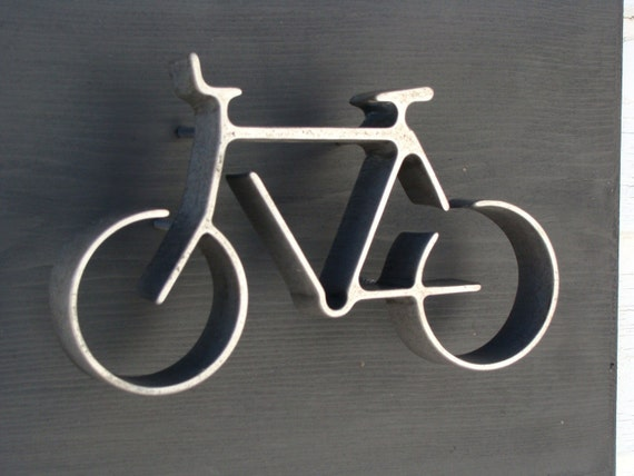 Bicycle Wall Art iron bicycle wall art industrial urban chicbaconsquarefarm