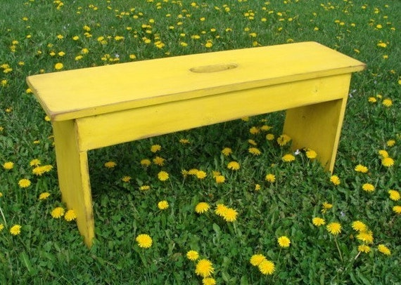Entryway Bench Coffee Table Wood Bench Bedroom Bench Outdoor Bench, Extra Seating, Custom, Lemon
