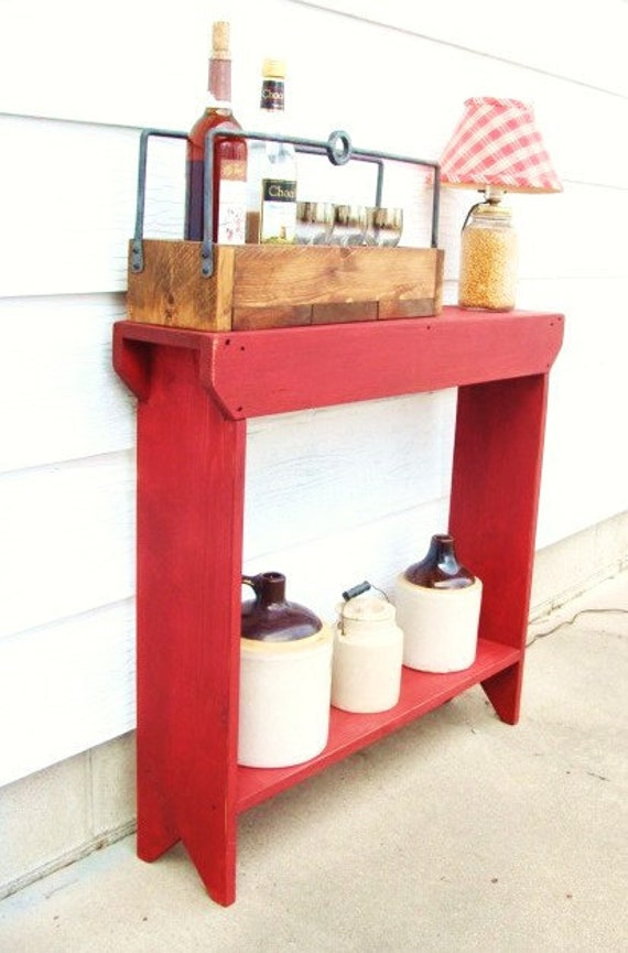 Marvelous Entryway Table With Storage Narrow Console Table Living Room Furniture  Handmade Custom