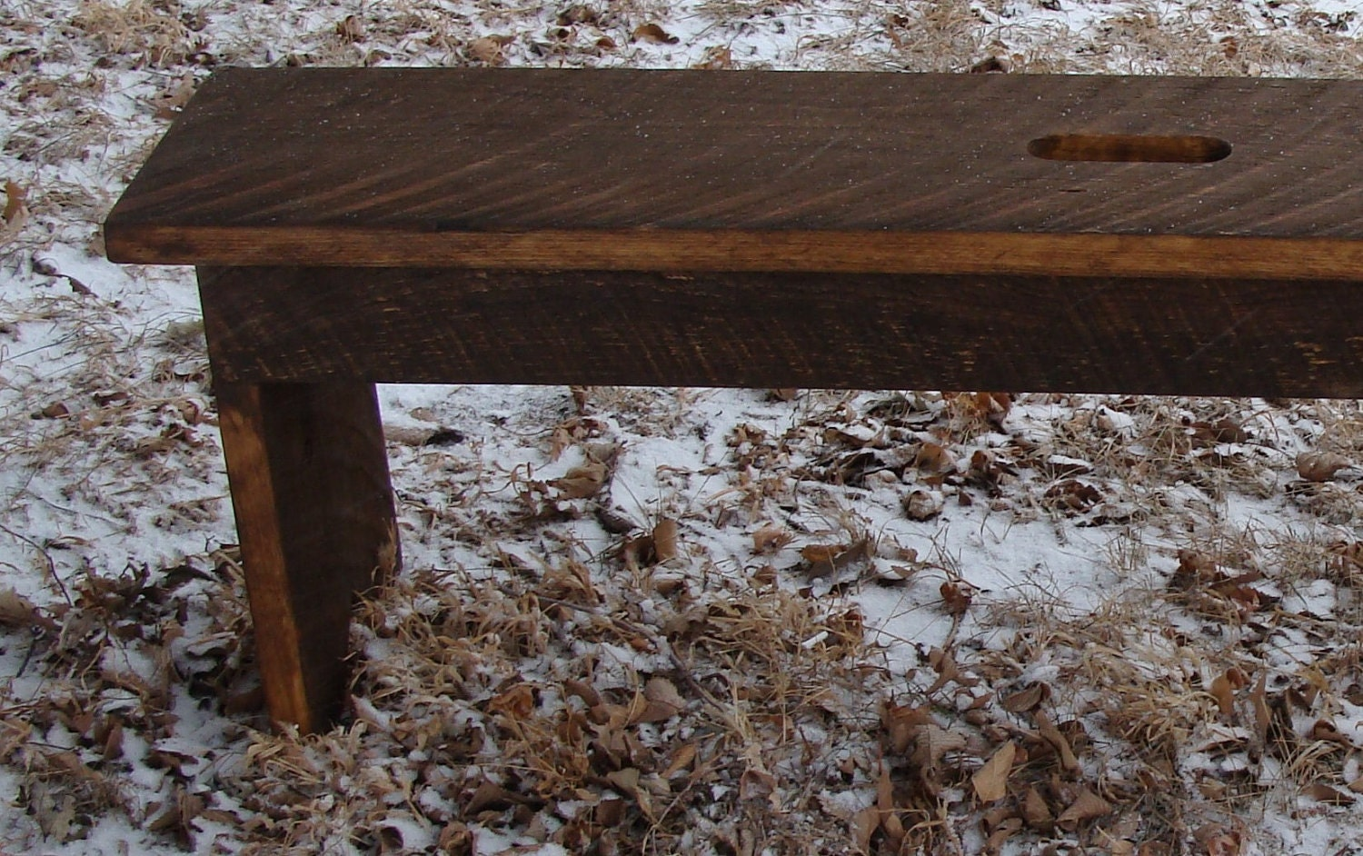 Rustic Wood Bench For Entry Or Coffee Table By Baconsquarefarm