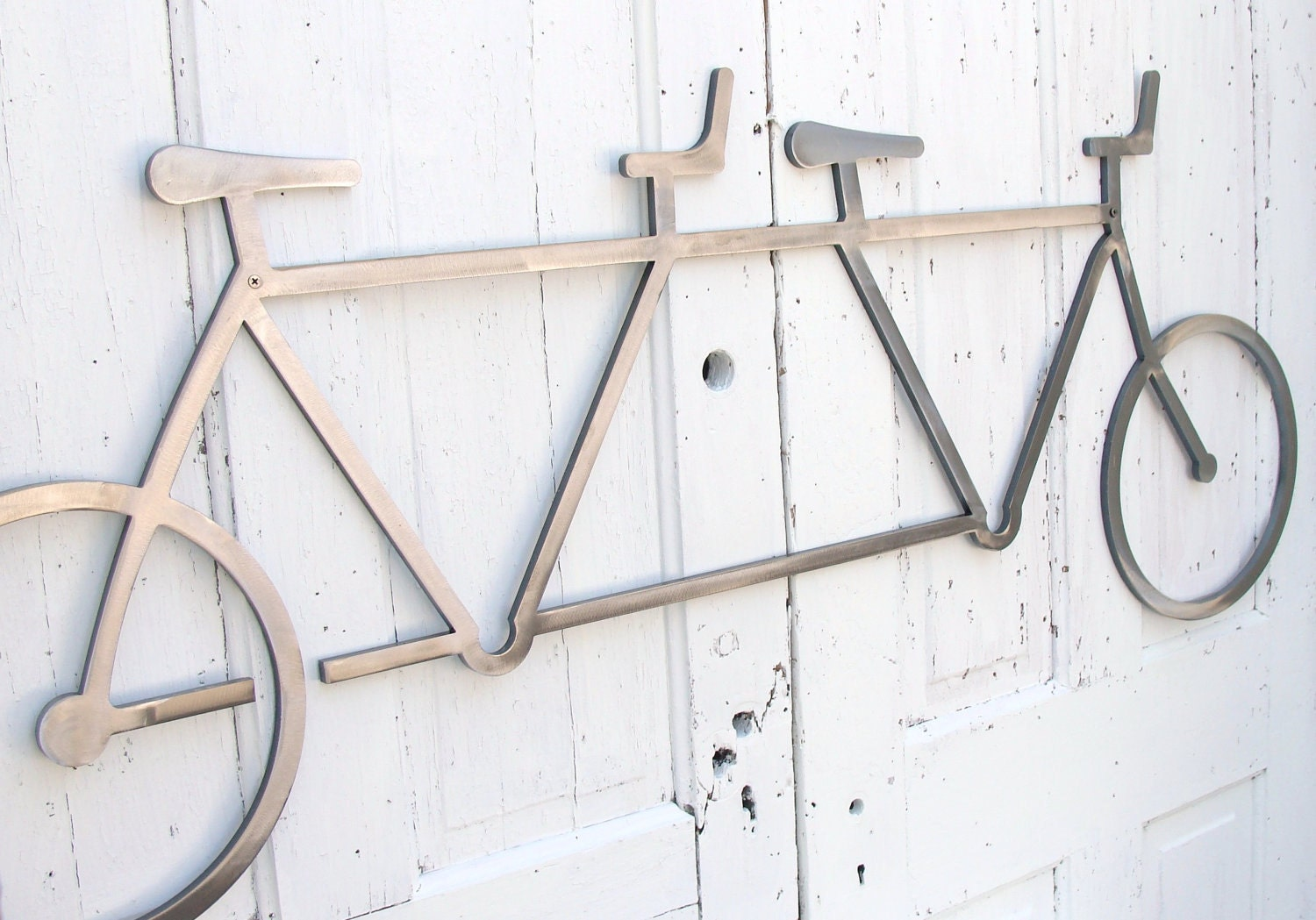 Bike Wall Art bicycle wall art decor tandem bike wall hanging bike decor