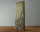 Green Leaf Dew Drop Pendant